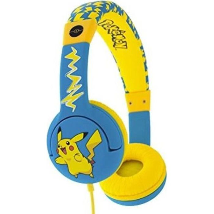 Casque Pokemon Pikachu Kidsafe