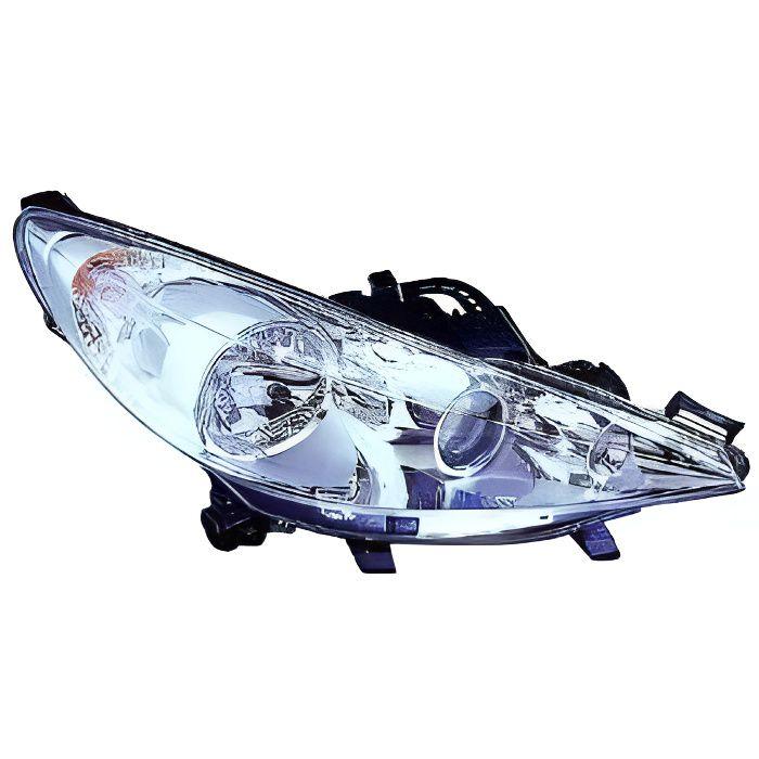 Phare avant droit 3 Lampes PEUGEOT 207 de 2009 a 2012 pas cher