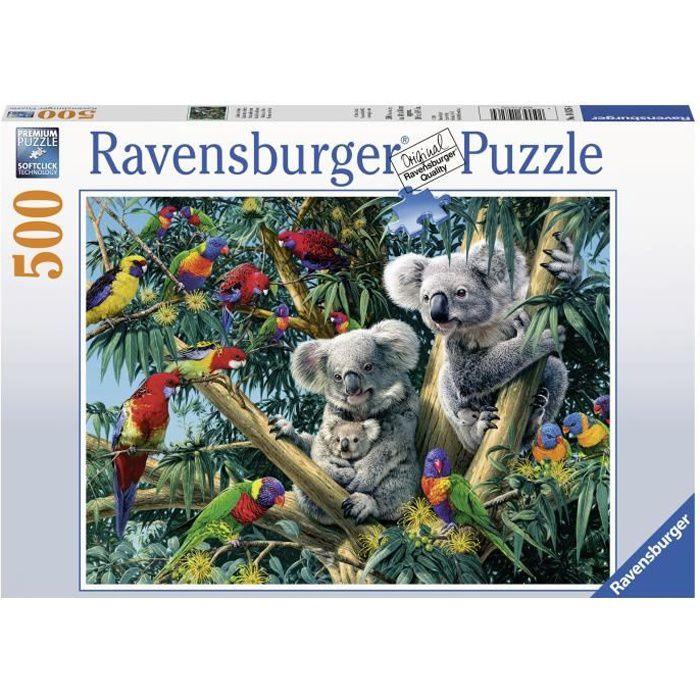 Puzzle 500 p - Koalas dans l'arbre