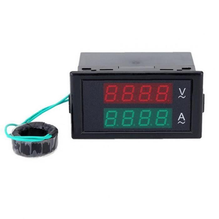 Voltmètre AC Voltmètre AMMÈTRÈMEMÈRE DU DUAL DU DOUBLES DE DÉTECTEUR DE COMMENTAIRE DE COUVERTURE AMP Couvercle arrière DL69-2042