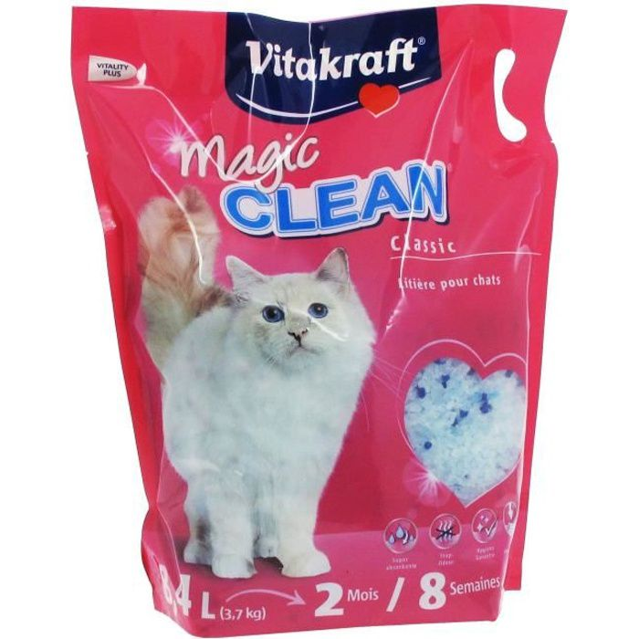VITAKRAFT Litière Magic Clean - 8 L - Pour chat