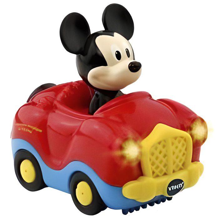 VTech Tut Tut Bolides - Le cabriolet magique de Mickey - Disney - Voiture interactive Rouge