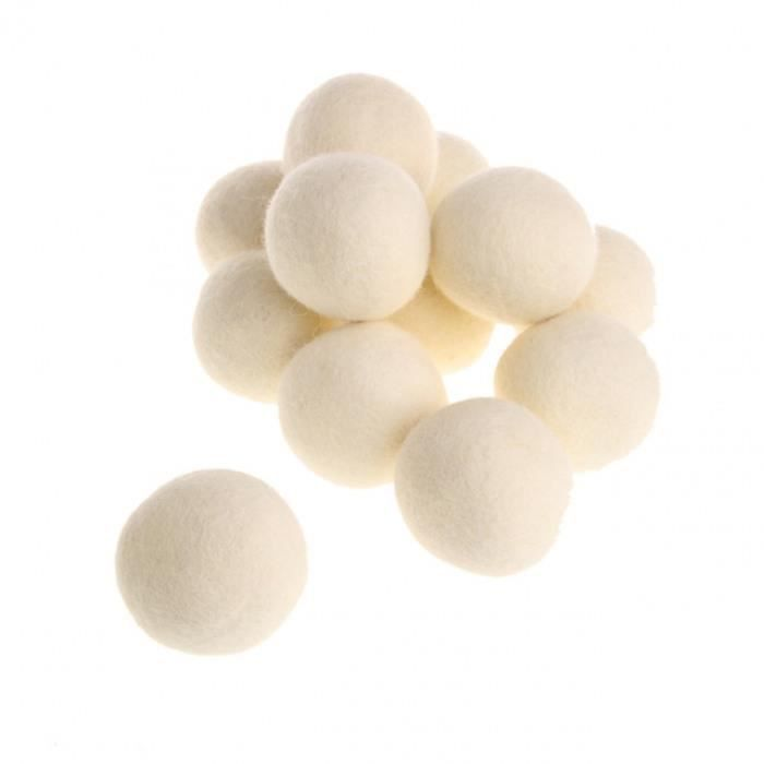 Boules assouplissantes Laine Smart Sheep Premium Naturel Assouplisseur r/éutilisable