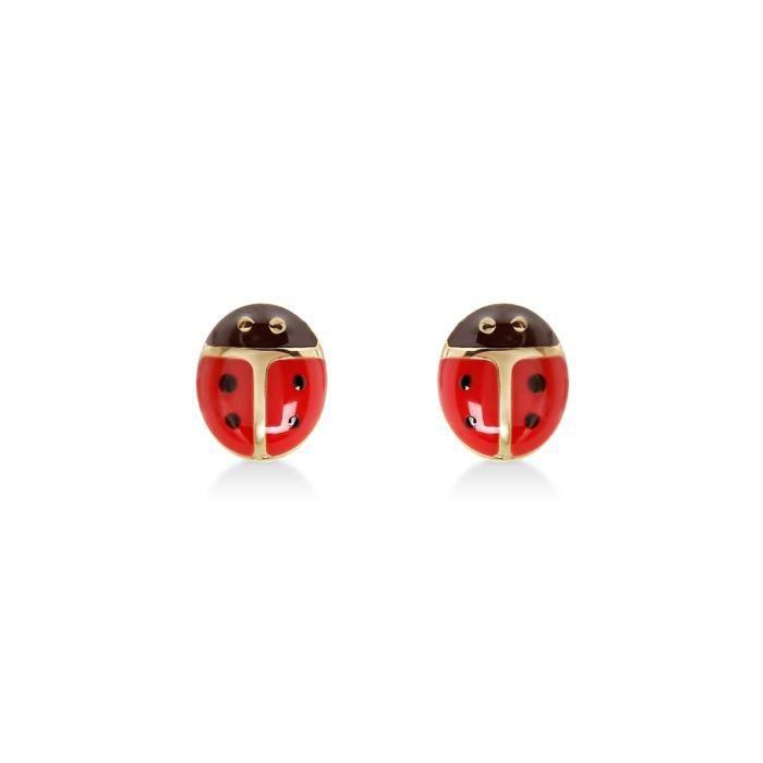 Collier feuilles Coccinelle Fête Accessoires de Mariage pour Femmes Bijoux Set