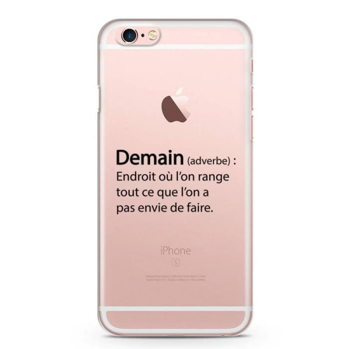 coque iphone 6 plus 6s demain adverbe endro