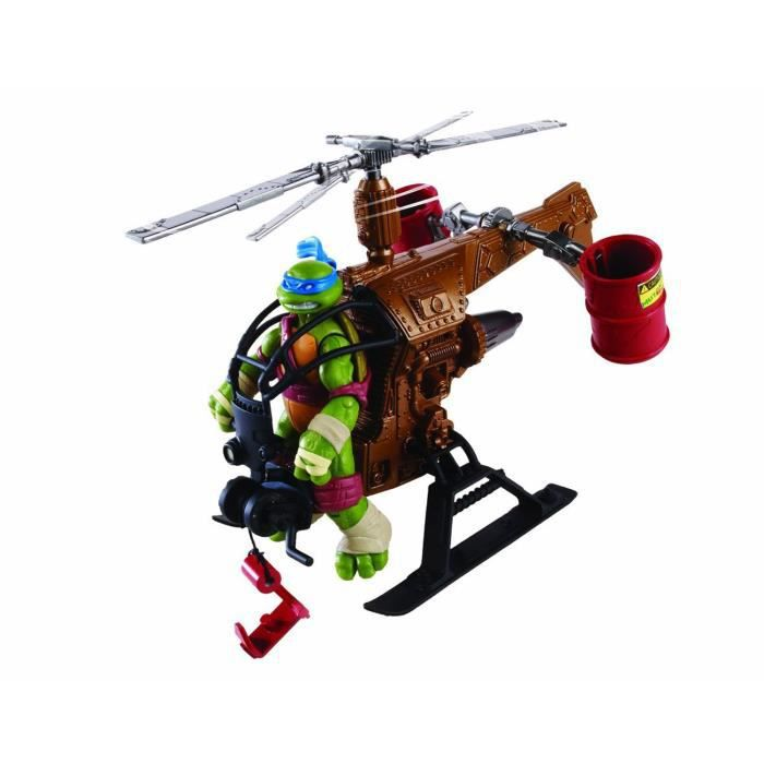V hicule pour figurine tortues ninja dropcopter achat vente voiture camion cdiscount - Voiture des tortues ninja ...