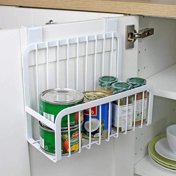 Support Porte-sac poubelle suspendue meuble de cuisine armoire hayon Stander
