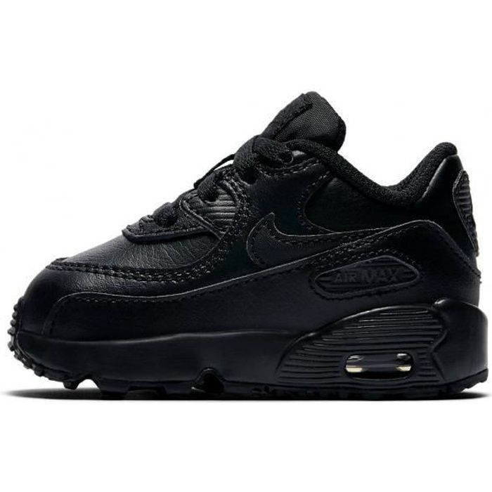 magasin en ligne f1f25 4f76b Nike - Baskets Air Max 90 Leather Enfants (TD) - 833416