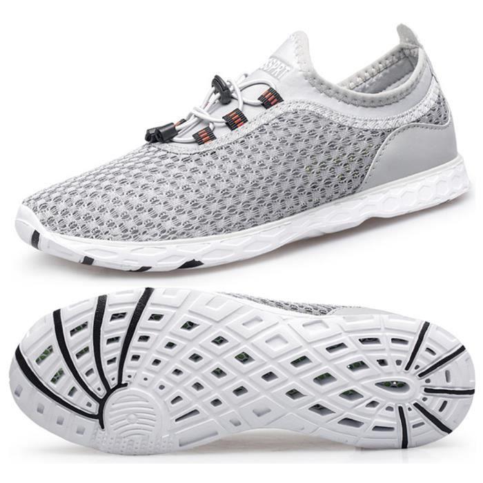 Chaussures de Plage Chaussures Aquatiques Homme Plage et d'eau ...