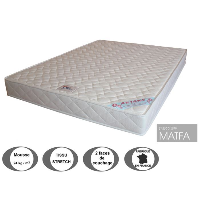 matelas ariane 15 cm 80 x 190 achat vente matelas. Black Bedroom Furniture Sets. Home Design Ideas