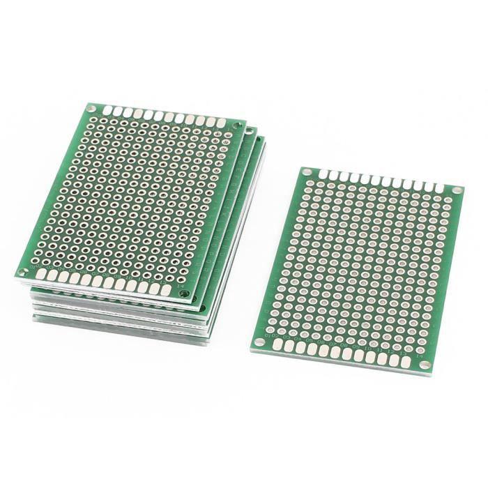 Piste de prototype de circuit imprimé de panneau de bande de carte PCB du côtéI