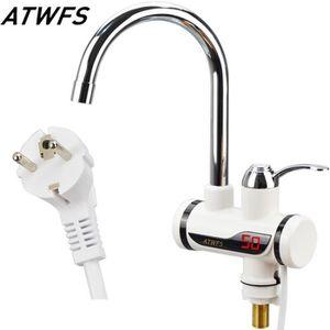 CHAUFFE-EAU Chauffe-eau électrique, 220v 3000w, prise EU, Robi