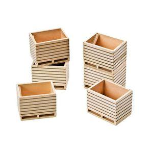 ETAGÈRE MURALE Kids Globe- caisses Pommes de Terre, 610611, Les C
