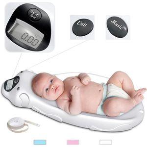 PÈSE-BÉBÉ Balance Éléctrique pour Bébé, Pèse Bébé, Blanc, Di