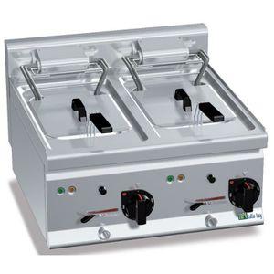 FRITEUSE ELECTRIQUE Friteuse électrique à poser avec 1 ou 2 bac - 2 cu