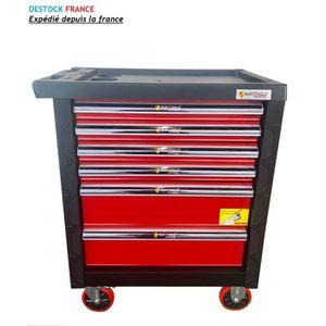 CHARIOT DE GARAGISTE Servante d'atelier tiroirs complète avec 241 outil