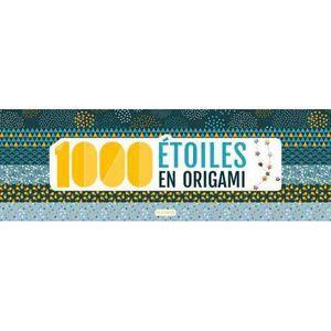 LIVRE 0-3 ANS ÉVEIL Livre - 1000 étoiles en origami