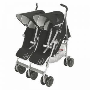 POUSSETTE  Poussette Double Maclaren Twin Techno black 2016