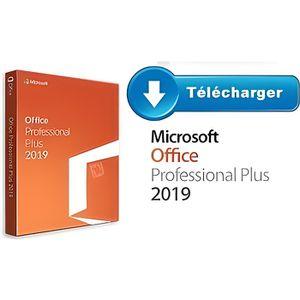 CLÉ USB Office 2019 Pro plus PC - Version à telecharger