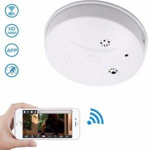 CAMÉRA MINIATURE 8GB Caméra espion - Détecteur de fumée wifi caméra