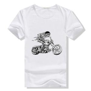 T/ête de Mort Mexicaine yonacrea T-Shirt Col V Adulte