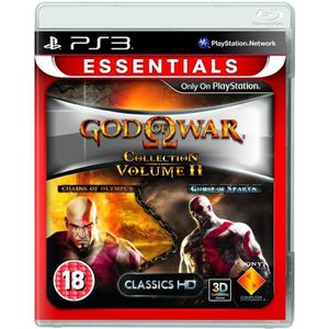 JEU PS3 God of War Collection 2  Essentials (Playstation 3