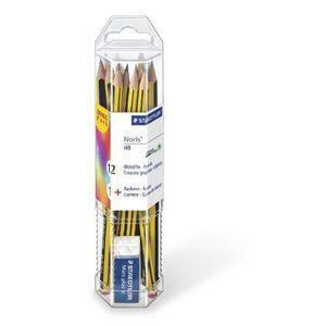 CRAYON GRAPHITE STAEDTLER - Gobelet de 12 crayons graphite HB Nori