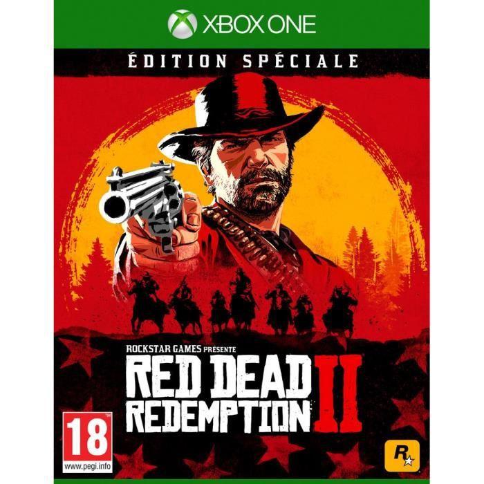 JEU XBOX ONE Red Dead Redemption 2 Édition Spéciale Jeu Xbox On