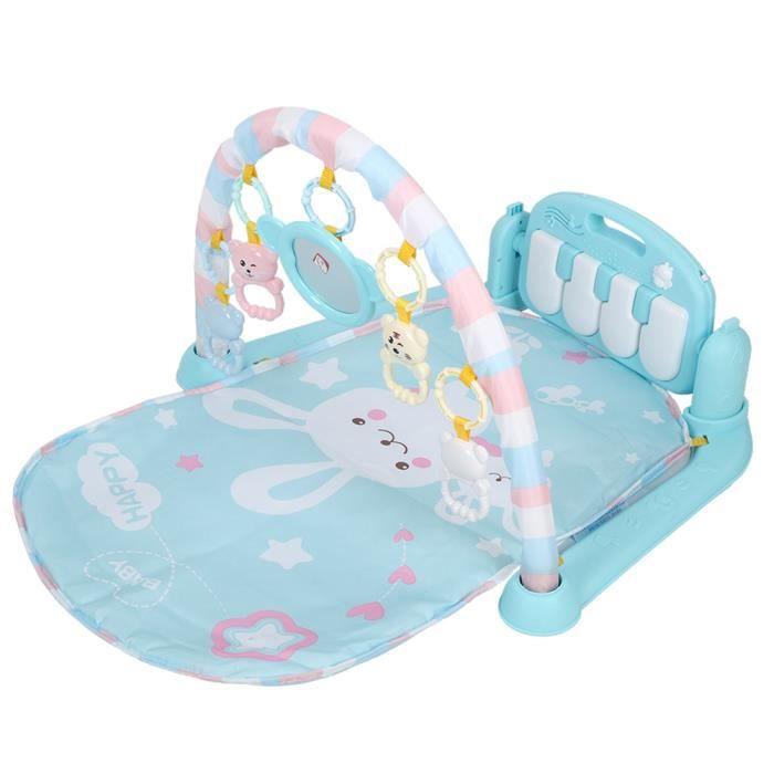 Jouet de tapis musique éducatif pour Bébé enfant (bleu)-DUO