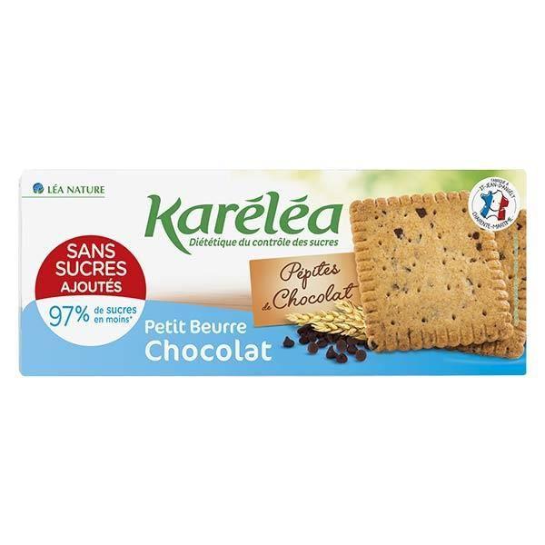 Succombez à la saveur des pépites de chocolat avec les Petits Beurre Karéléa !