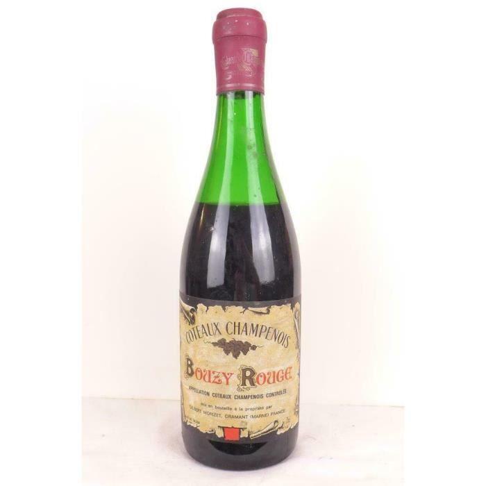 bouzy gilbert morizet (non millésimé années 1960 à 1970) rouge années 60 - coteaux champenois