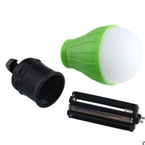 Mini lampes de camping, ampoules écologiques, accessoires de tente, lampes de randonnée - vert