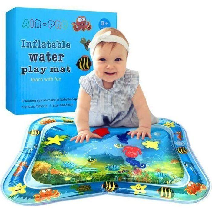 SuperLove® Tapis d'eau Matelas gonflable jouet enfant bébé éducatif océan poisson