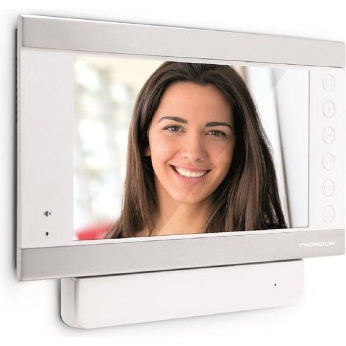 THOMSON Moniteur vidéo supplémentaire Smart 7- avec mémorisation des visiteurs