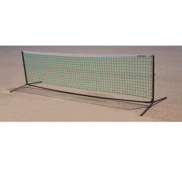 Poteaux de mini tennis avec filet 3m