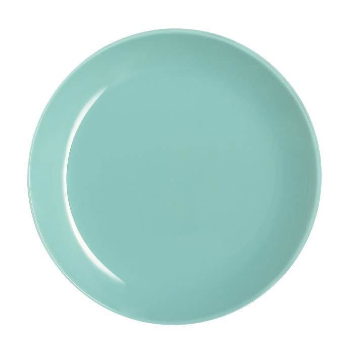 Assiette à dessert bleue givrée 20 cm - Arty - Luminarc Bleu