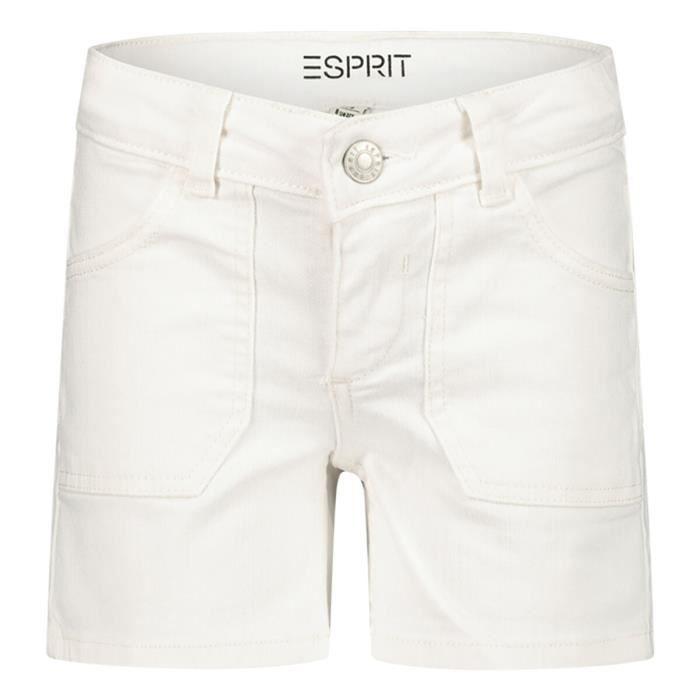 Esprit Fille short-bermuda en couleur Blanc - Taille 128