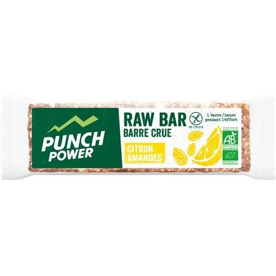 PUNCH POWER Raw Bar Amande citron - Barres 35 g