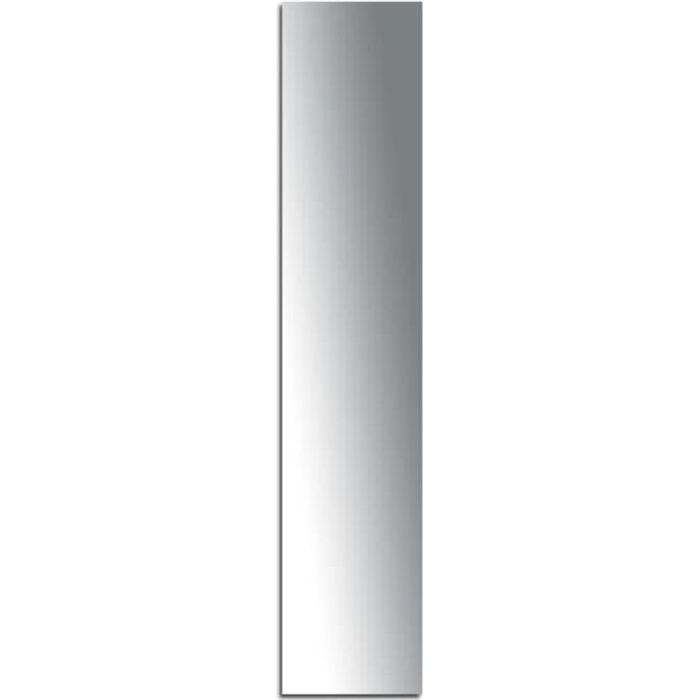 Miroir adhésif lettre I majuscule - 3,2 cm Matière : Miroir acrylique - Plastique réfléchissant Dimensions : 32 x 7 mm