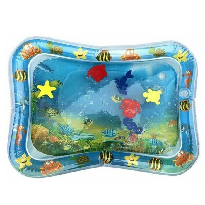 Tapis d'eau Matelas gonflable jouet enfant bébé éducatif océan poisson