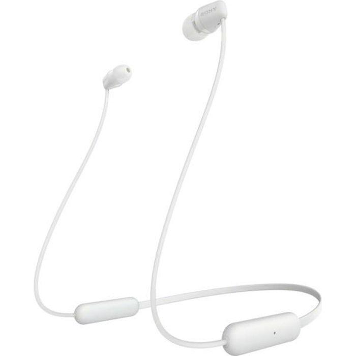 SONY WI-C200 Ecouteurs intra-auriculaires Bluetooth sans fil - Style tour de cou - Noir