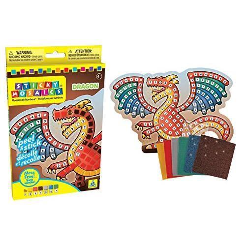 The Orb Factory Sticky Mosaics Dragon Kit