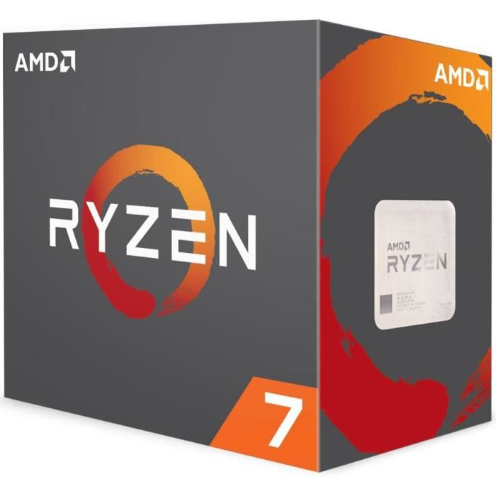 PROCESSEUR Processeur AMD Ryzen 7 1700X 3.4 GHz