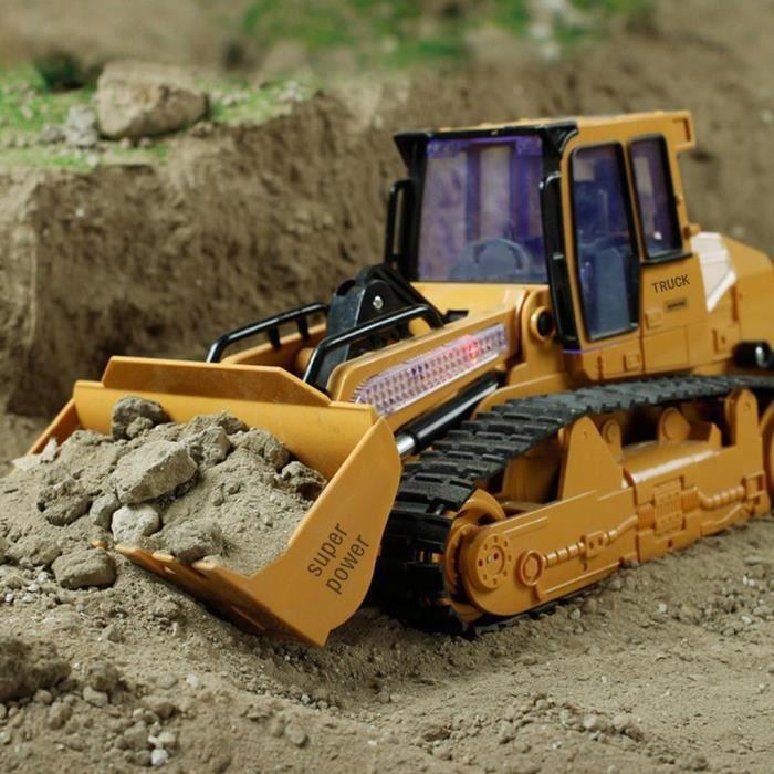 RADIOCOMMANDE 1:12 RC pelle pelle camion de bulldozer de constru