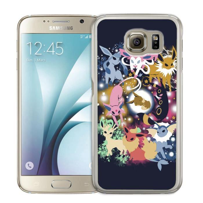 Coque Samsung Galaxy S4 Pokémon Evoli Evolutions