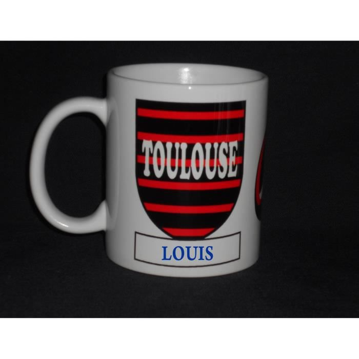 Mug ceramique rugby personnalise toulouse achat for Art de la table toulouse
