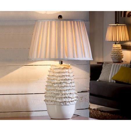 Grande lampe de salon en PORCELAINE ÉMAILLÉE - Achat / Vente ...