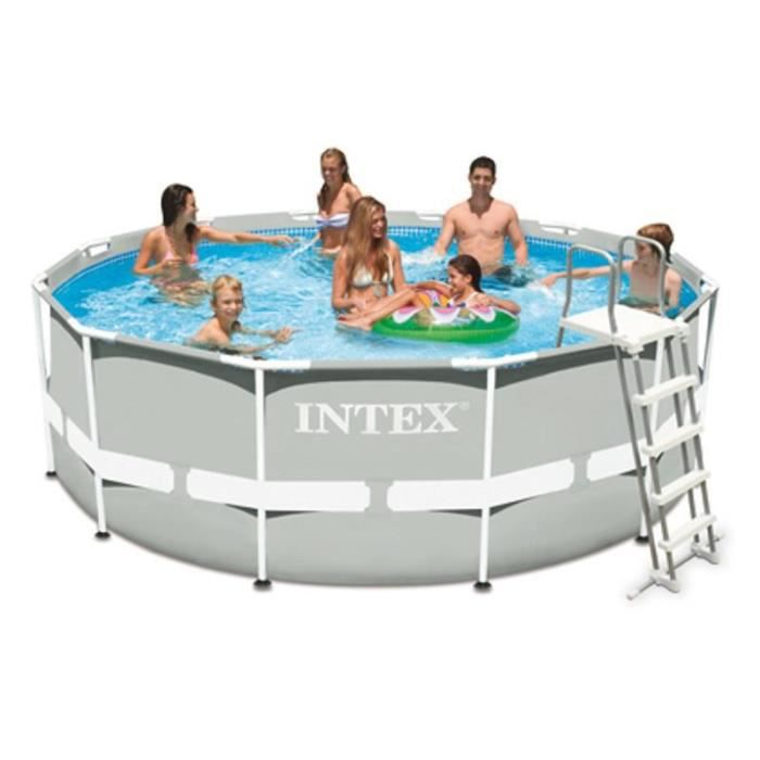 Piscine tubulaire intex 3 66 x m achat vente for Piscine tubulaire 1 22