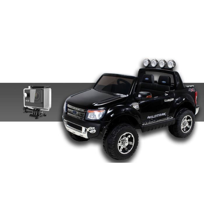 mini voiture lectrique pour enfants ford ranger 70 watt noir cam ra sport achat vente. Black Bedroom Furniture Sets. Home Design Ideas