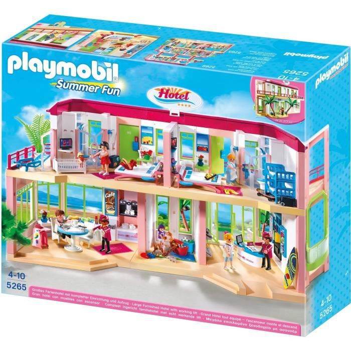 Playmobil summer fun le grand h tel achat vente for Grand hotel pas cher